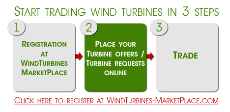 Wind Turbines MarketPlace registration